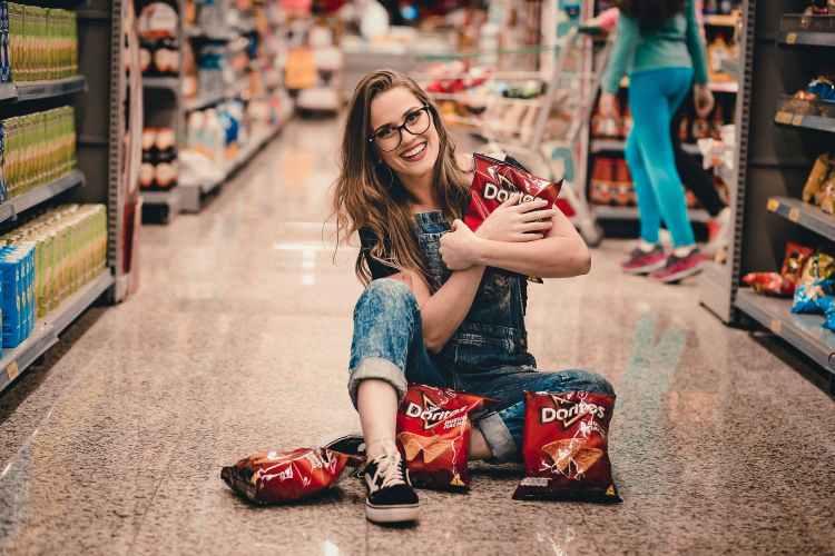 doritos shopping supermarket