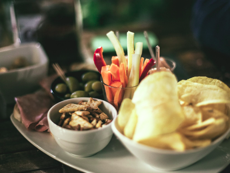 Palm Oil Free Crisps, Chips and Snack foods