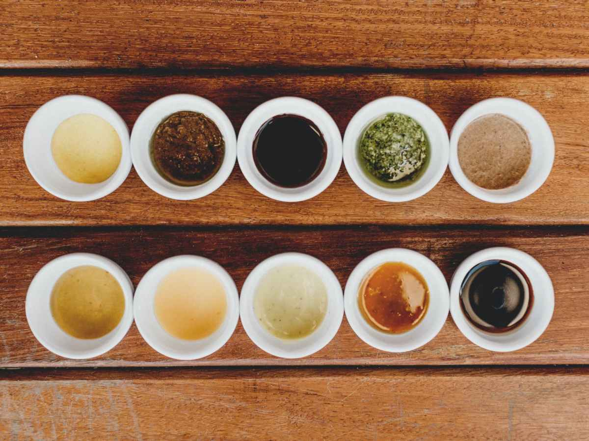 Palm Oil Free Sauces and Condiments