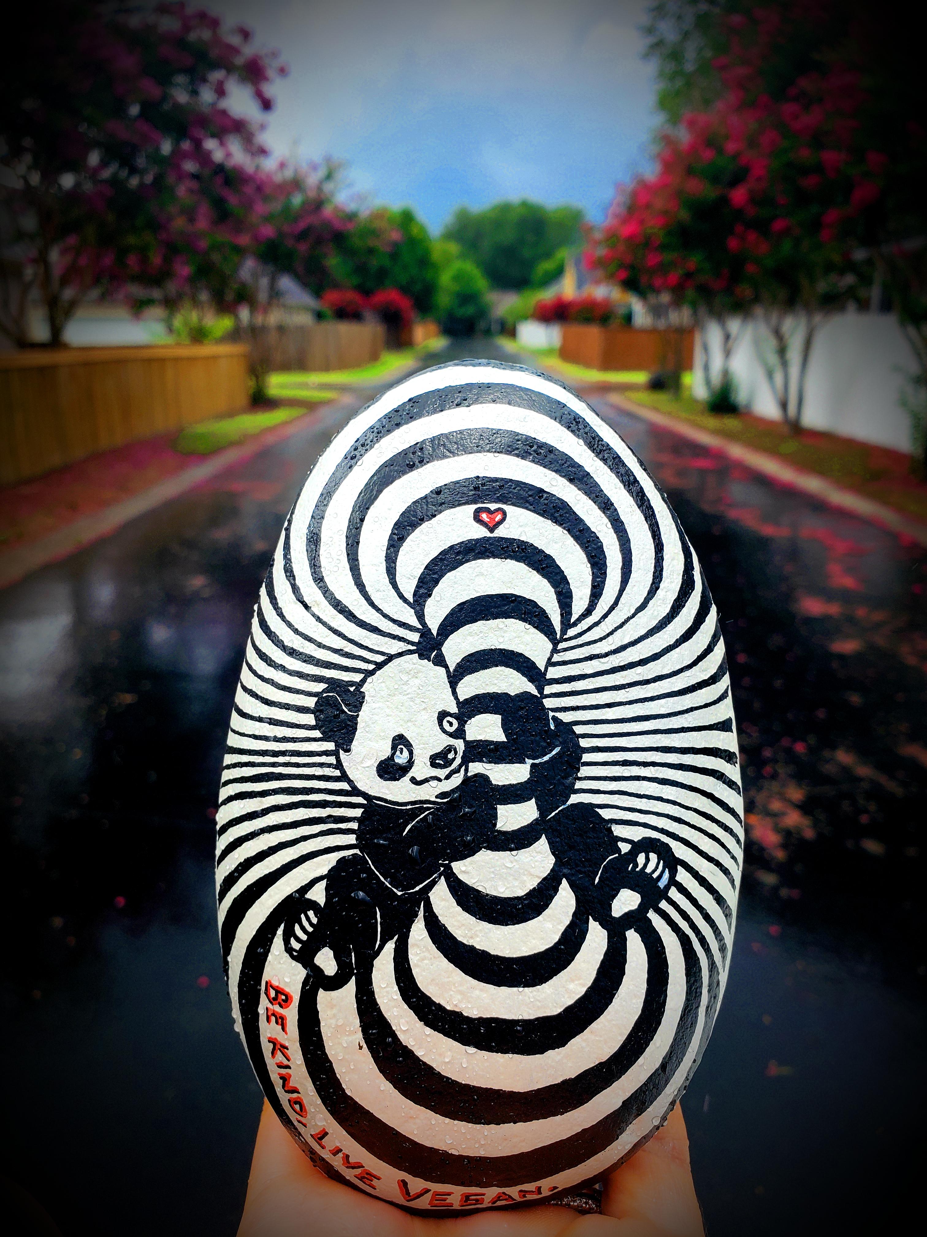 Street art by Nicole McLaren