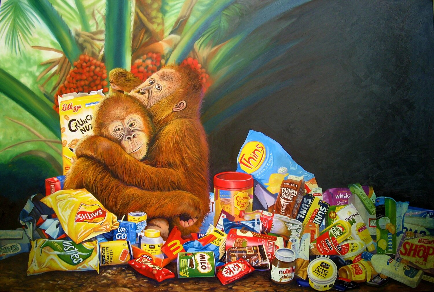 Palm Oil and Pollution by Jo Frederiks