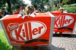 Nestle killer palm oil