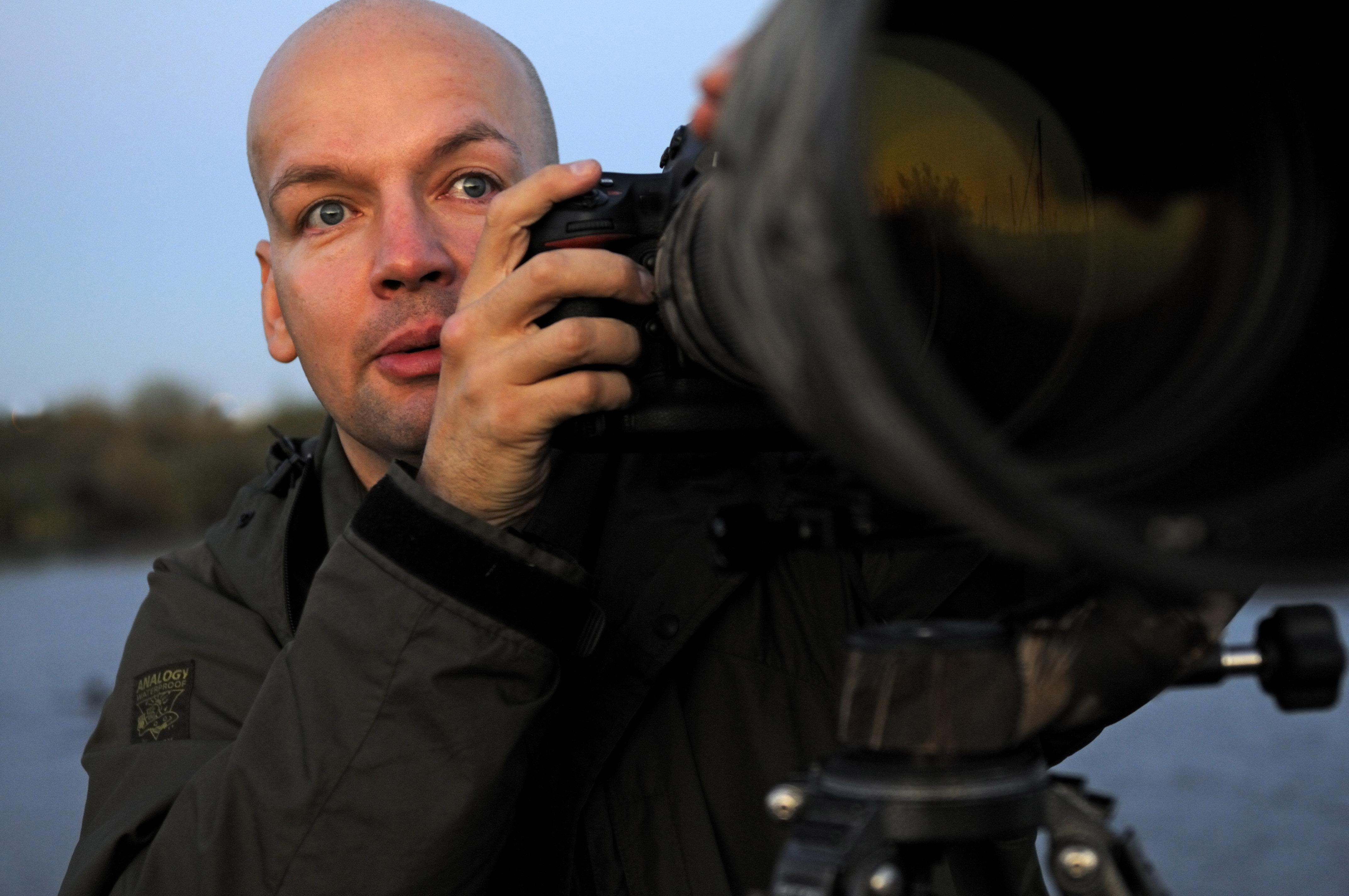Craig Jones Wildlife Photography - Craig with his camera