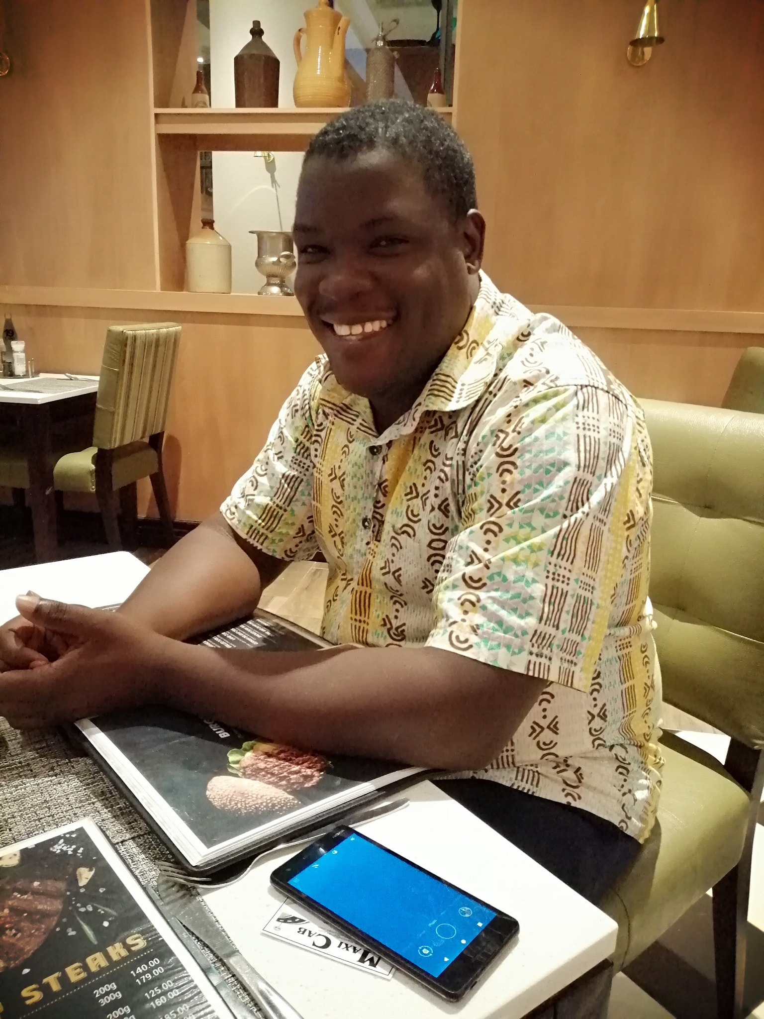 Dr Richard Ssuna - wildlife and pet vet, animal advocate