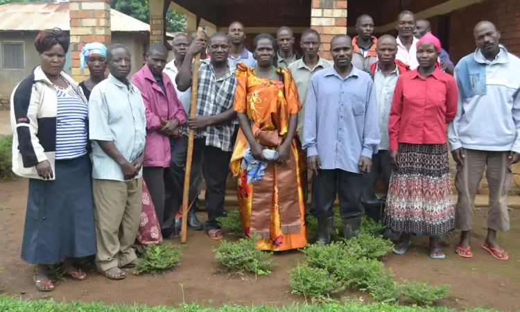 Farmers evicted from their land by RSPO member Wilmar in the Kalangala Islands on Lake Victoria